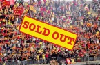 La Curva Nord sold out