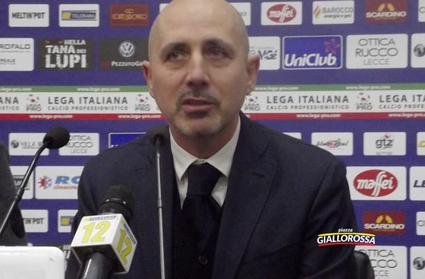 Il D.G. del Lecce Giuseppe Mercadante