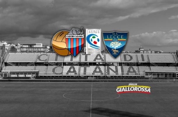 Catania Lecce cronaca