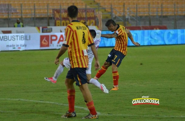 Il gol di Torromino, foto Pinto