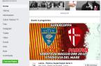 screen della pagina del Padova