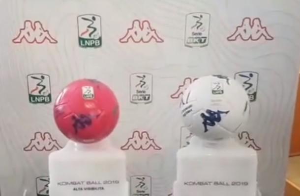 Kombat Ball 2019 è il nuovo pallone ufficiale della Serie BKT 2018/2019