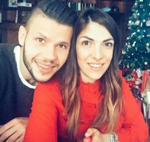 Marco ed Eleonora Calderoni, foto Instagram