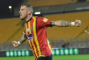 Andrea La Mantia, attaccante Lecce (foto Pinto)