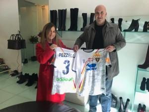 Annarella Carlino e Corrado Liguori, foto US Lecce