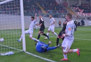 Il gol di La Mantia a Carpi