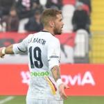 Andrea La Mantia, attaccante del Lecce, foto P. Pinto