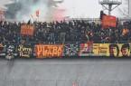 Tifosi del Lecce a Carpi, foto Pinto