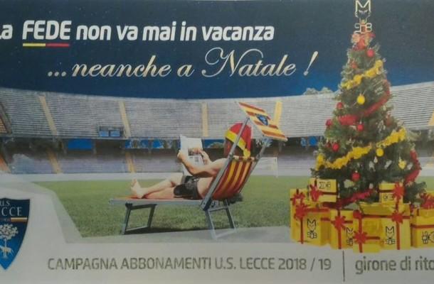 campagna abbonamenti invernale 2018-19 US Lecce