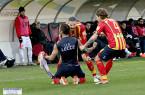 Marco Mancosu, l'esultanza dopo il gol