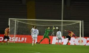 Il gol di La Mantia (foto P.Pinto)