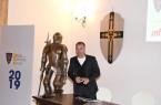 Il presidente del Lecce, Saverio Sticchi Damiani (foto US Lecce)