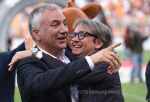 Mauro Meluso direttore sportivo del Lecce (foto P. Pinto)
