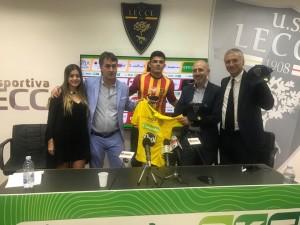Murillo presidente del Leones e la figlia, Vera, Mercadante e Meluso