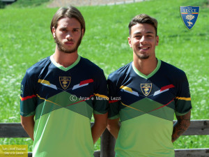 Gallo e Lo Faso, foto Anza e Marco Lezzi US Lecce