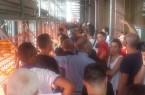 la fila di tifosi che attendono l'apertura della BPP