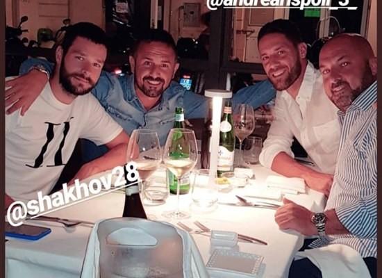 Il post (storia) Instagram di Shakhov