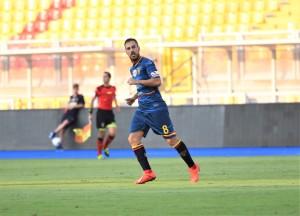 Marco Mancosu, capitano del Lecce (foto P. Pinto)
