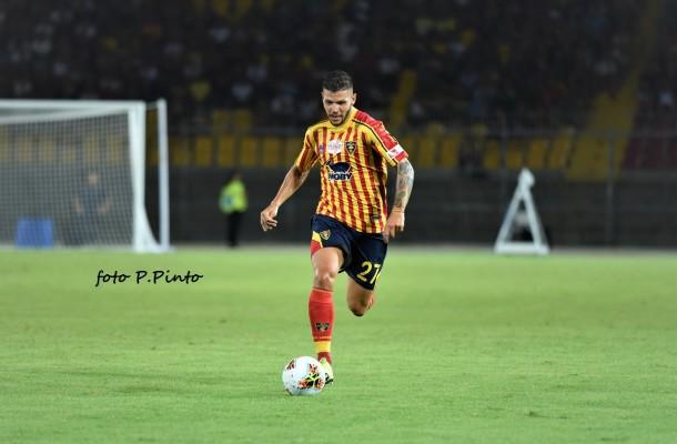 Marco Calderoni, difensore del Lecce (foto P.Pinto)