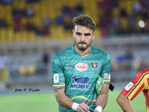 Gabriel, portiere US Lecce (foto Pinto)