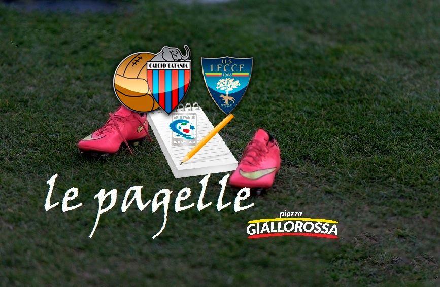 Catania-Lecce 3-0: le pagelle dei giallorossi - Piazza ...